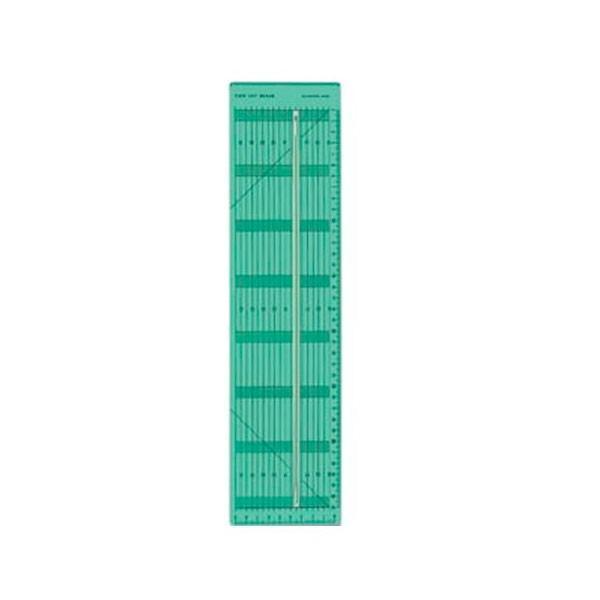 送料無料 クロバー テープカット定規 57-924