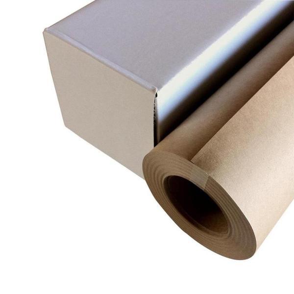 送料無料 代引き・同梱不可 和紙のイシカワ インクジェット用クラフト紙 914mm×30m巻 WA022