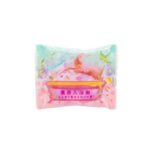 送料無料 代引き・同梱不可 はちみつソムリエ・バスタブレット ふんわり桜はちみつの香り 12個入り