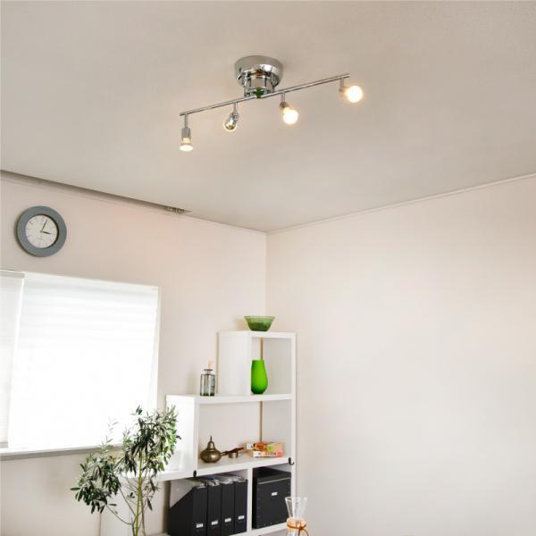 シーリングライト aircorno スポットライト ダイニング リビング おしゃれ 照明 4灯 6畳 LED対応 間接照明 天井照明 インテリア照明 寝室 北欧|kurashikan|06