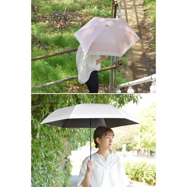 日傘 晴雨兼用 solshade 軽量 UVカット 折りたたみ傘 100% 遮光 遮熱 完全遮光 折り畳み 傘 レディース かわいい 母の日 ギフト プレゼント|kurashikan|02
