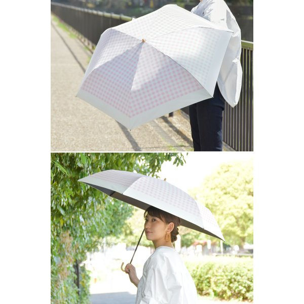 日傘 晴雨兼用 軽量 UVカット 折りたたみ傘 100% 遮光 遮熱 完全遮光 折り畳み 傘 レディース かわいい 母の日 ギフト プレゼント|kurashikan|03