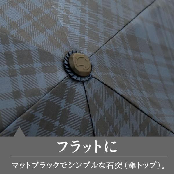 日傘 折りたたみ傘 solshade メンズ 晴雨兼用 完全遮光 超軽量 おしゃれ UVカット 100% 遮光 遮熱 折りたたみ 傘 コンパクト 丈夫 耐風 男性用 ネイビー|kurashikan|09