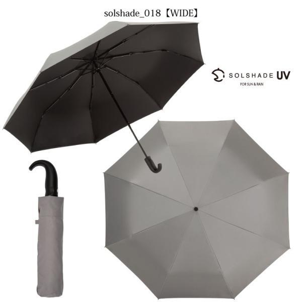 日傘 折りたたみ傘 メンズ 晴雨兼用 完全遮光 撥水 超軽量 おしゃれ UVカット 100% 遮光 遮熱 折りたたみ 傘 コンパクト 丈夫 耐風 男性用 グレー kurashikan 13