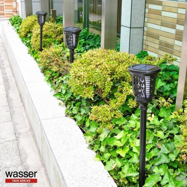 6個セット ガーデンライト ソーラーライト 埋め込み式とブラケット型兼用 led  屋外 おしゃれ 防水 kurashikan 17