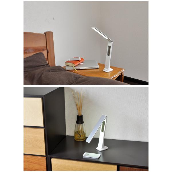 LEDデスクライト 電気スタンド 調光 学習用 LED ライト 照明 デスクライト wasser 目に優しいおしゃれ 読書灯 デスク 学習机 寝室 オフィスLEDライト|kurashikan|02