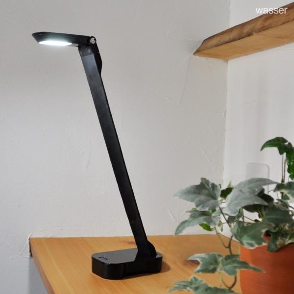デスクライト LED 充電式 懐中電灯 防災ライト コードレス 卓上ライト スタンドライト  wasser 調光 コンパクト LEDライト 寝室 おしゃれ|kurashikan|20