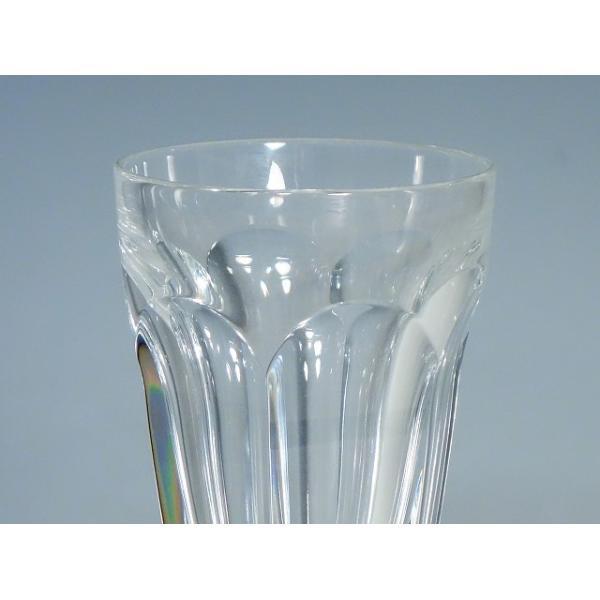 BACCARAT バカラ アルクール シャンパンフルート ワイングラス クリスタルガラス|kurashinokura|02
