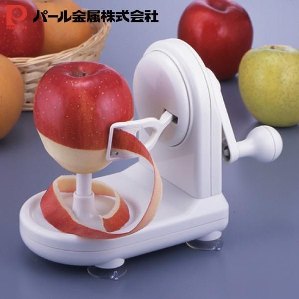 パール金属 C-140 アップル ピーラー リンゴ 皮むき器