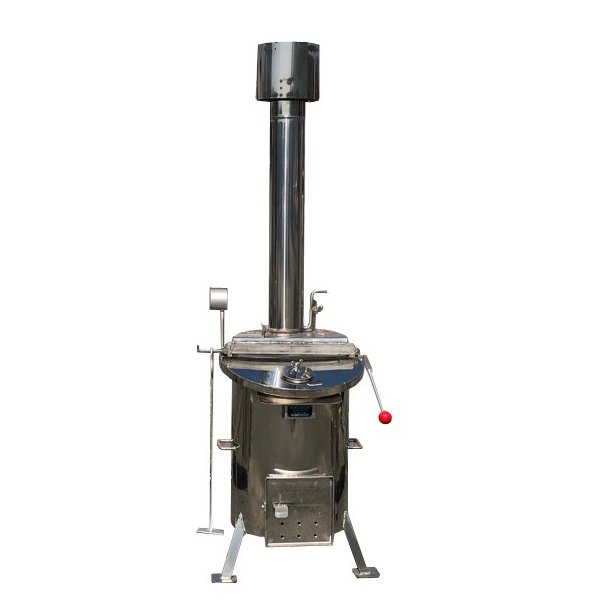 関口鐵工所 乾式ストーブ(焼却炉) タテ型 ステンレス 150型