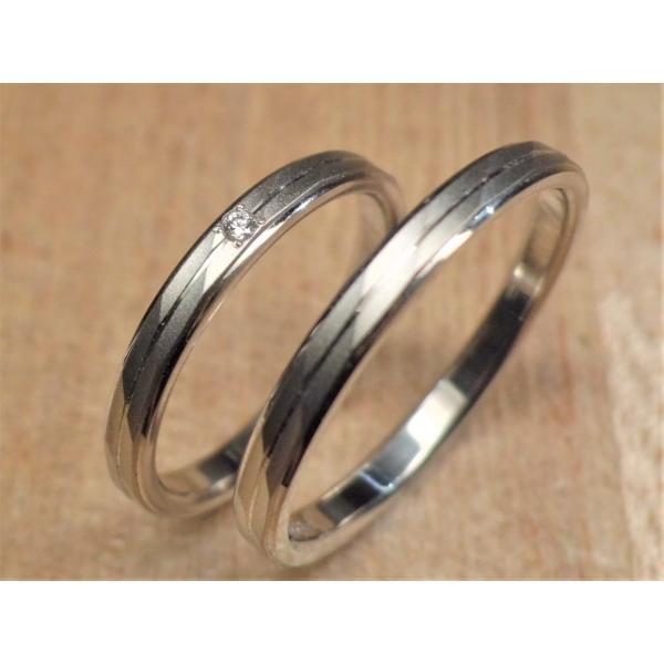 マリッジリング 結婚指輪 PT999  ペアリング ウルトラハードプラチナ