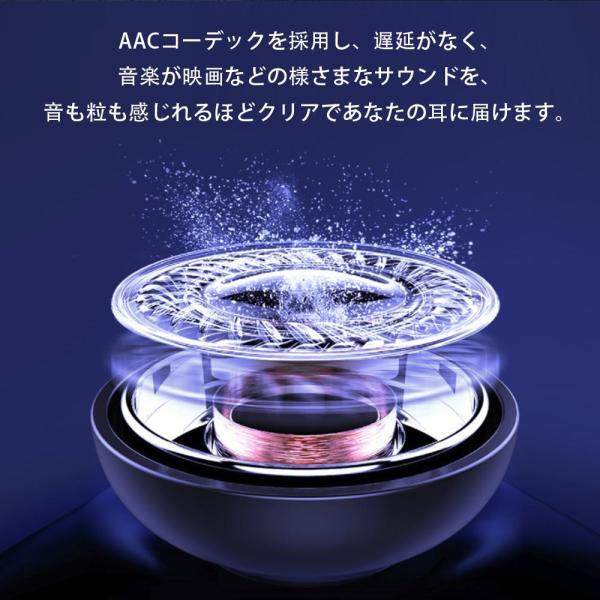 ワイヤレスイヤホン bluetooth5.0 ブルートゥースイヤホン iphone Android 対応|kuri-store|06
