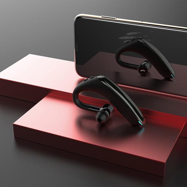 ワイヤレス イヤホン イヤホン5.0 左右耳通用 ワイヤレスイヤホン Bluetooth 5.0超長待機180日 高品質28時間連続 耳掛け型 180度回転   片耳|kuri-store|15