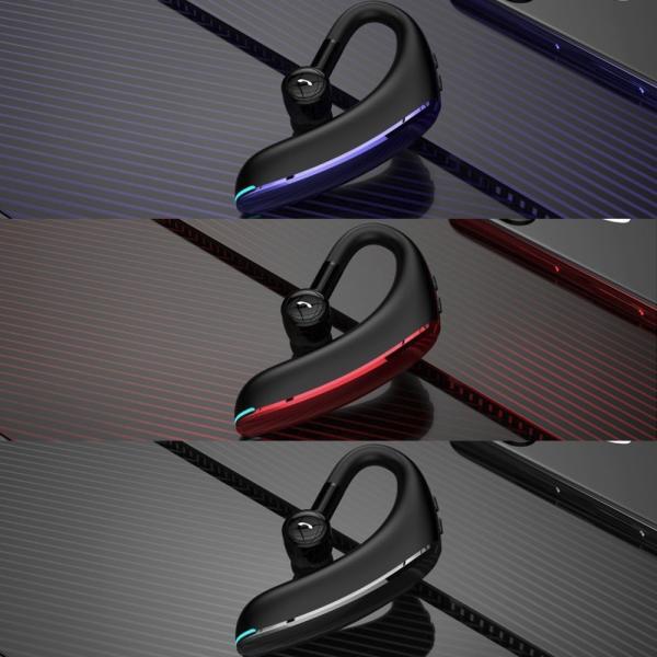 ワイヤレス イヤホン イヤホン5.0 左右耳通用 ワイヤレスイヤホン Bluetooth 5.0超長待機180日 高品質28時間連続 耳掛け型 180度回転   片耳|kuri-store|10