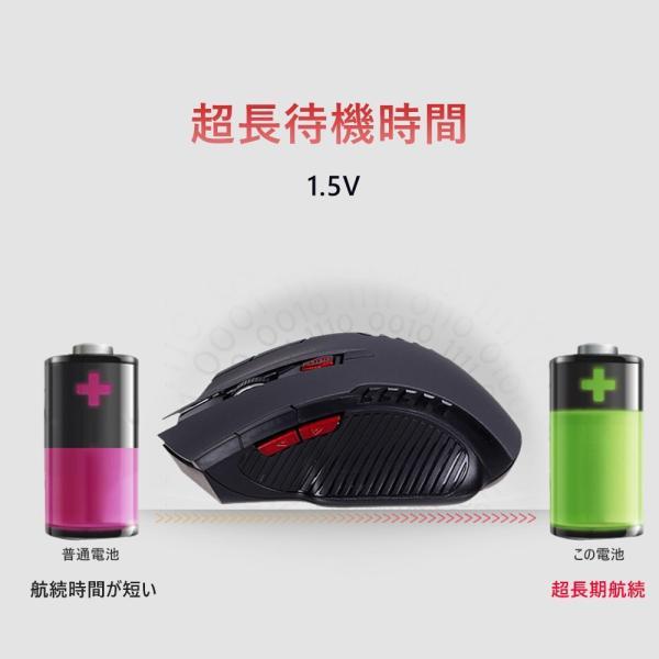 マウス ワイヤレス 2.4G マウス 無線 3段調整可能なDPI 省エネスリープモード搭載 高精度 小型 送料無料|kuri-store|05