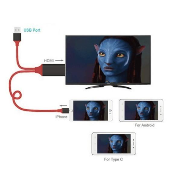 Lightning  HDMI 変換ケーブル Lightning Digital AV to HDMI 1080Pアダプタ iphone 映像出力ケーブル 設定不要 音声同期出力|kuri-store|18