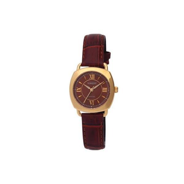 AUREOLE(オレオール) レザー レディース腕時計 SW-579L-2※