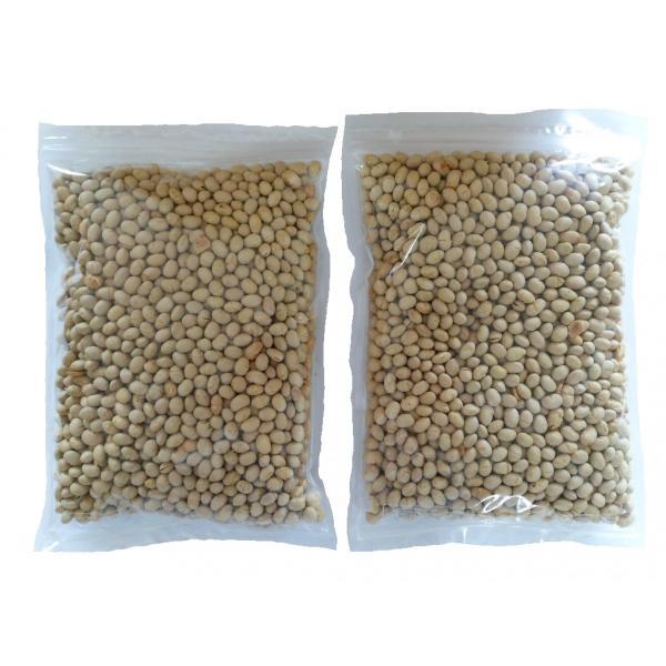 素煎り大豆 1000g 国産 チャック袋 500gX2袋 九州工場製造品 黒田屋|kurodamameya|02