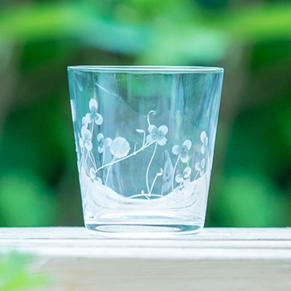 クローバーオールド キッチン 食卓 グラス コップ 彫刻 グラヴィール エングレーヴィング 記念品 お祝い プレゼント ガラス 黒壁 kurokabe