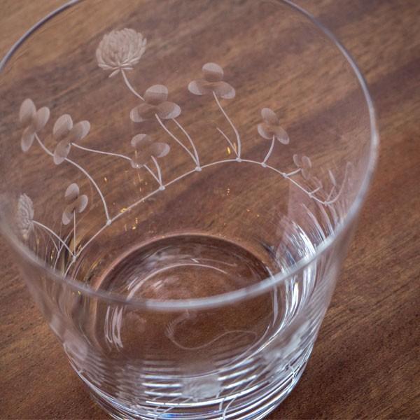 クローバーオールド キッチン 食卓 グラス コップ 彫刻 グラヴィール エングレーヴィング 記念品 お祝い プレゼント ガラス 黒壁 kurokabe 02