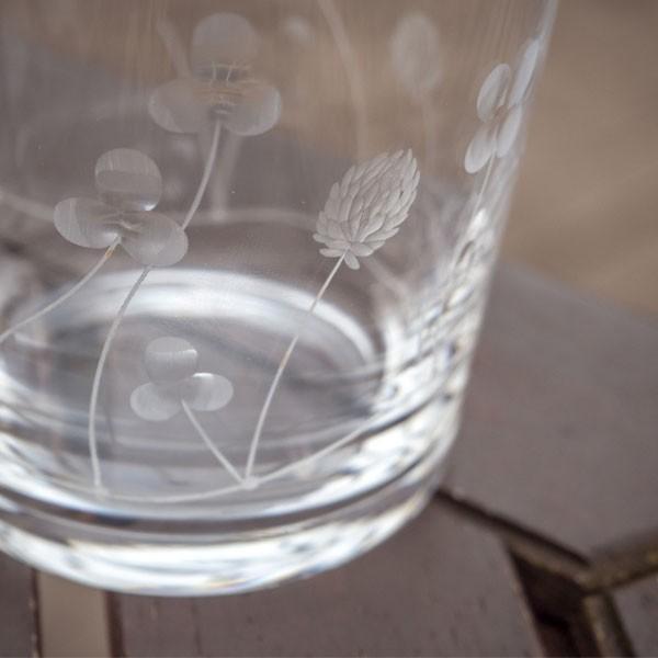 クローバーオールド キッチン 食卓 グラス コップ 彫刻 グラヴィール エングレーヴィング 記念品 お祝い プレゼント ガラス 黒壁 kurokabe 03