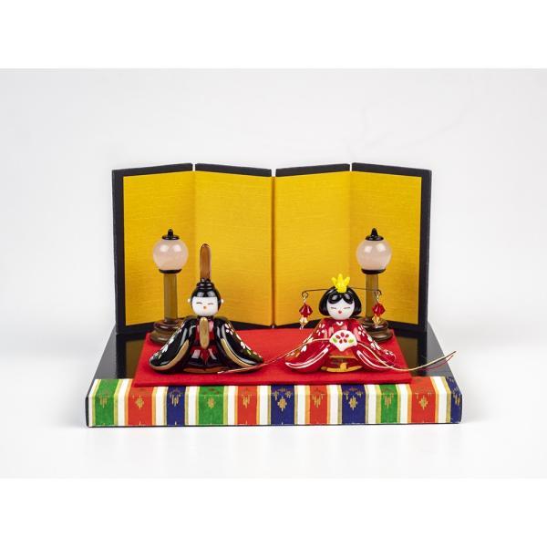 ガラスのお雛様 雛人形 ひなまつり 節句 ギフト 「京都御所雛セット」|kurokabe|02