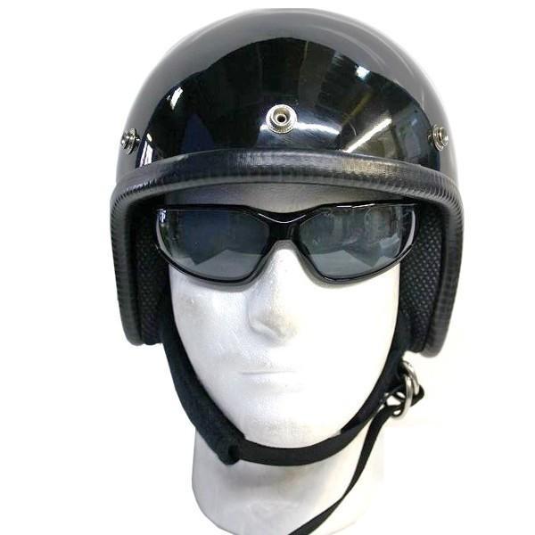 装飾用 ミニジェットヘルメット つやあり|kurokawa96
