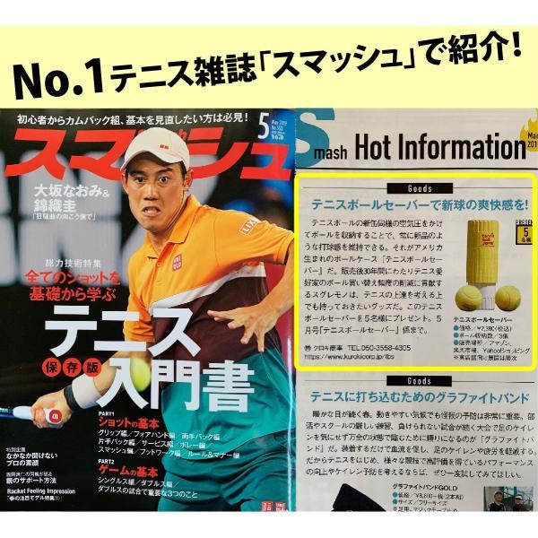 テニスボール セーバー Tennis Ball Saver ボールの空気圧を維持 何度もニューボールの打球感|kurokicorp|02