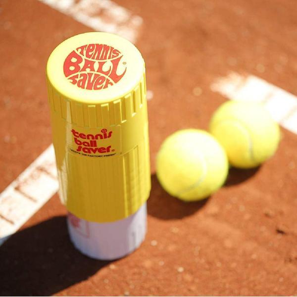 テニスボール セーバー Tennis Ball Saver ボールの空気圧を維持 何度もニューボールの打球感|kurokicorp|14