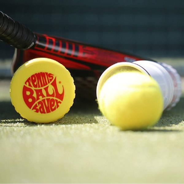 テニスボール セーバー Tennis Ball Saver ボールの空気圧を維持 何度もニューボールの打球感|kurokicorp|15