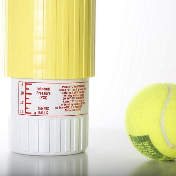 テニスボール セーバー Tennis Ball Saver ボールの空気圧を維持 何度もニューボールの打球感|kurokicorp|16
