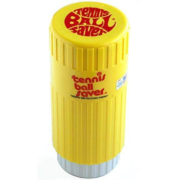 テニスボール セーバー Tennis Ball Saver ボールの空気圧を維持 何度もニューボールの打球感|kurokicorp|19