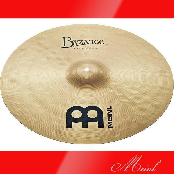 "Meinl マイネル Byzance Traditional Series Extra Thin Hammered Crash Cymbal 20"" [B20ETHC] クラッシュシンバル"
