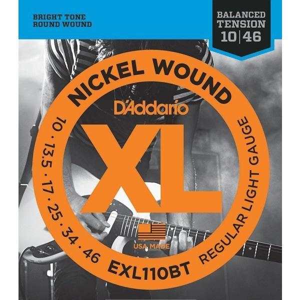 D'Addario EXL110BT XL Balanced Tension (10-46)(エレキギター弦) (ネコポス)(ご予約受付中)