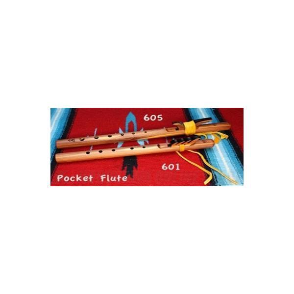 《  アップ 》HighSpiritsFlutesポケットフルート605key/Gスギ材280mm(インディアンフルート)()