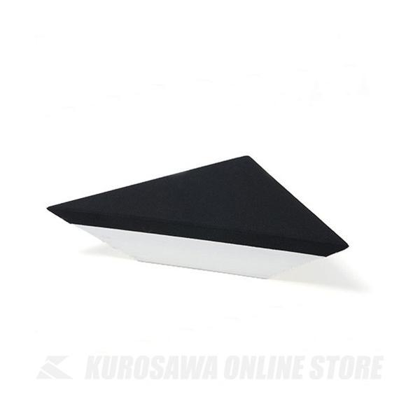 《期間限定!ポイントアップ!》NiCSo 3side 2枚セット1辺:400mm 天井三角錐型 Black (吸音材)(お取り寄せ)