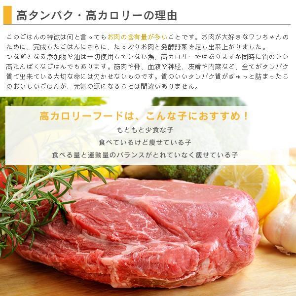 kurosu kitchen ドッグフード 無添加 国産 北海道で作りました たっぷりお肉と52種の熟成発酵野菜のブレンドフード 600g×2袋 セット(クロスキッチン)|kurosu|04