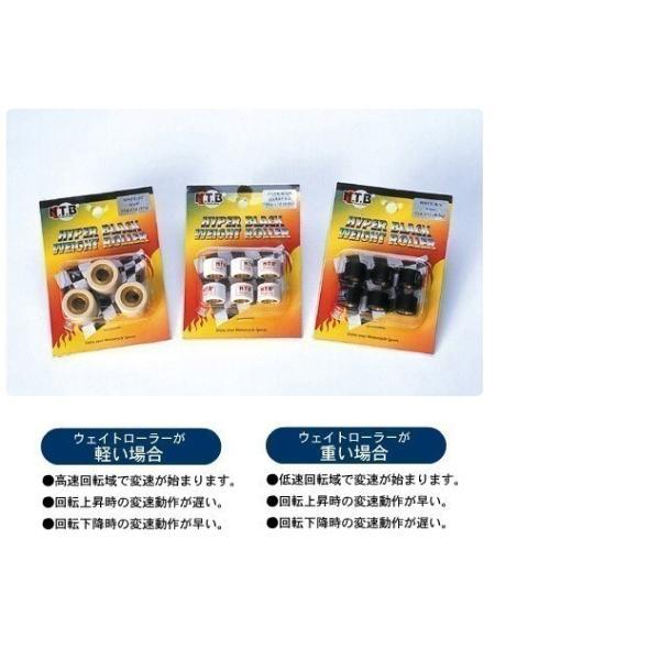 スズキ 20φ × 15mm × 19.0g × 6個入 ウェイトローラー / NTB WS20-19 / アドレスV125G リミテッド / Address V 125 G Limited < CF4EA >