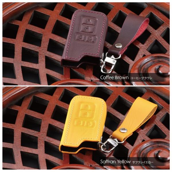 スマートキーケース スマートキーカバー 革 レザースマートキーケース ヴォクシー 80系 ノア 80系 BRALD K20 プレゼント 男性 女性 2019 ギフト 雑貨|kuruma-com2006|05