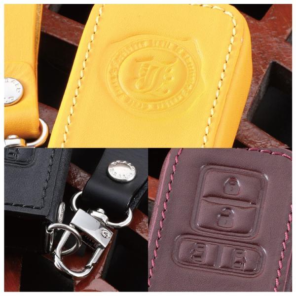 スマートキーケース スマートキーカバー 革 レザースマートキーケース ヴォクシー 80系 ノア 80系 BRALD K20 プレゼント 男性 女性 2019 ギフト 雑貨|kuruma-com2006|06