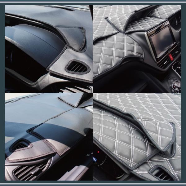 ノア 80系 ヴォクシー 80系 ダッシュボード ダッシュマット ブラックレザー VOXY NOAH|kuruma-com2006|03