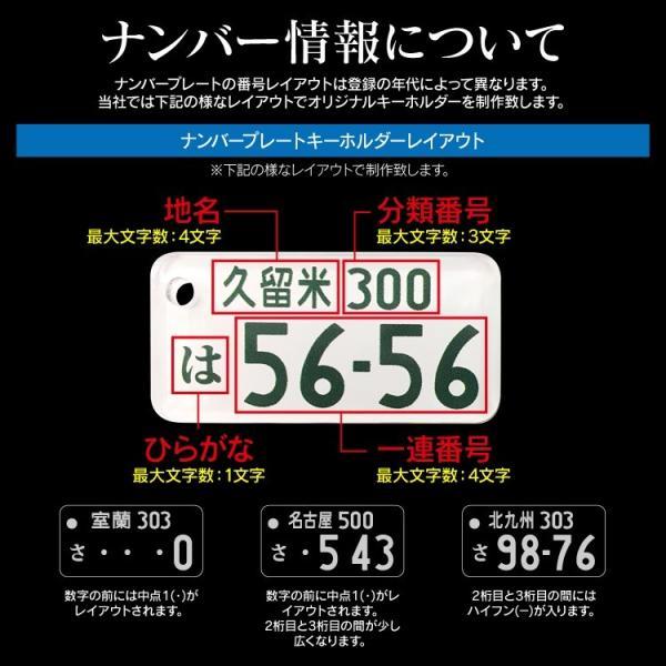 ナンバープレートキーホルダー 1円でプレゼント 5000円以上お買い上げの方のみ / この商品だけのご購入はできません|kuruma-com2006|06