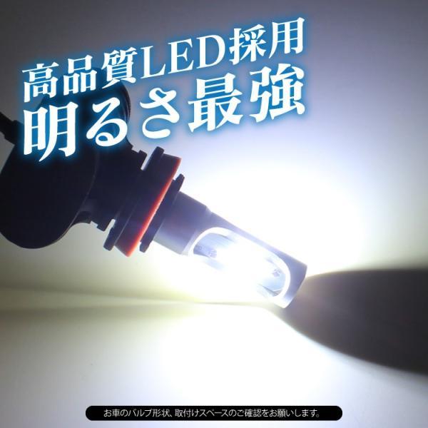 H11 LED フォグランプ ヘッドライト 車検対応 12V 24V オールインワン ファンレス 8000LM 爆光|kuruma-com2006|04