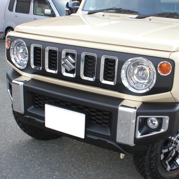 新型 ジムニー JB64W カスタム フロントバンパーガーニッシュ バンパーカバー アクセサリー 外装|kuruma-com2006|06