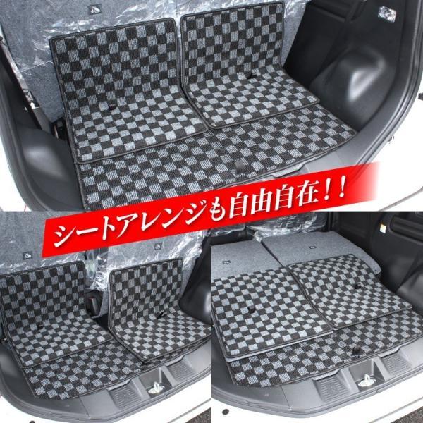新型 スペーシア カスタム ギア パーツ MK53S 内装2点セット ドアメッキベゼル + フロアマットフルセット|kuruma-com2006|11