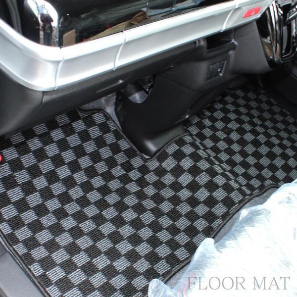 新型 スペーシア カスタム ギア パーツ MK53S 内装2点セット ドアメッキベゼル + フロアマットフルセット|kuruma-com2006|12