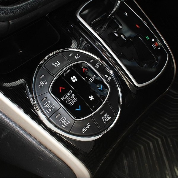新型 ヴォクシー80系 ノア エアコンダクトメッキベゼル + エアコンスイッチリング + メーターフードカバー 豪華3点セット インテリアパネル 内装|kuruma-com2006|11