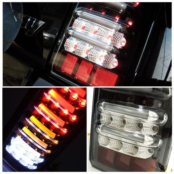ジムニー シエラ テールランプ LED JB23 JB33 JB43 バックランプ ブレーキ ランプ ファイバーチューブ内臓 パーツ カスタム 外装 テールライト|kuruma-com2006|06
