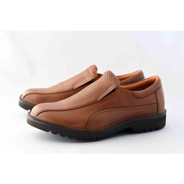 ハッシュパピービジネスシューズM-50494E革靴本革カジュアルシューズコンフォートシューズBR