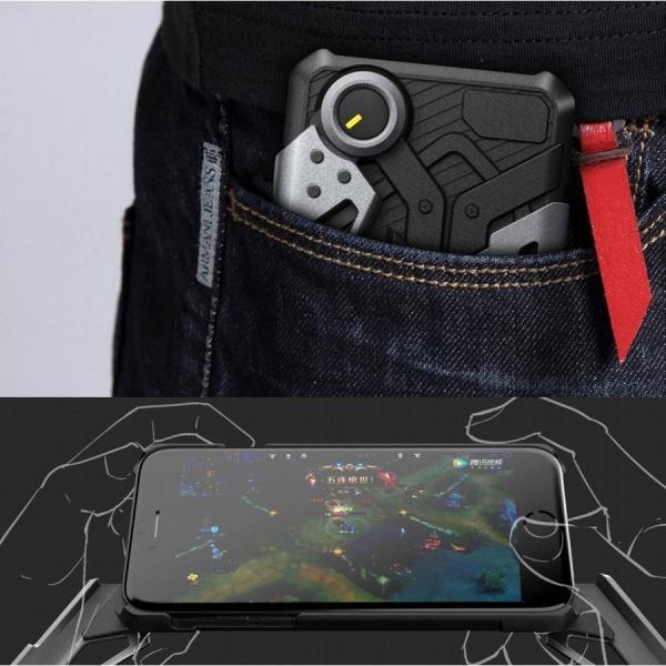 dada300b74 ... iphone8 7 6 荒野行動 PUBG コントローラー バトロワ スマホ スタンド カバー ゲーム用 ケース CRAB ...
